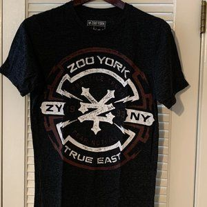 Vintage Zoo York True East Graphic T-Shirt Sz S